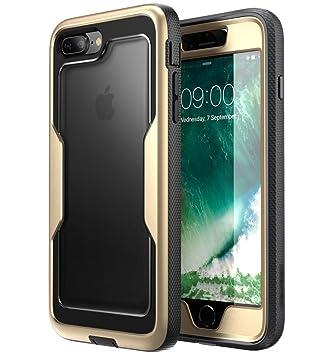 i-Blason Magma Series, Carcasa Transparente Pesado de Cuerpo Completo con Protector de Pantalla Incorporado para Apple iPhone 8 Plus / iPhone 7 Plus , ...