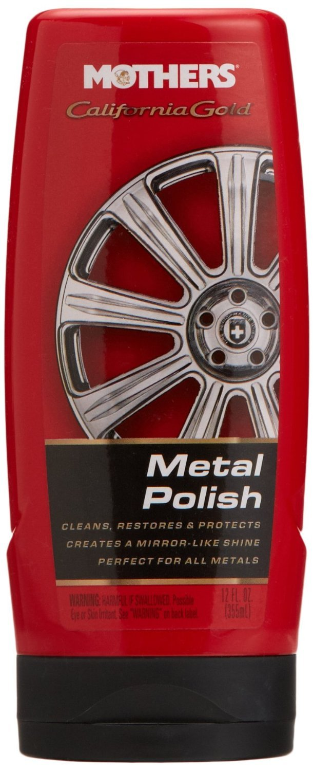 Mothers 35112 California Gold Metal Polish, 12-Ounce