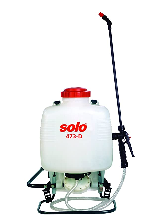 Amazon.com : Solo 473-diaphragm Pump 3-Gallon Professional Backpack Sprayer, for Bleach & Wettable Powders, Ergonomic Design : Lawn And Garden Sprayers ...