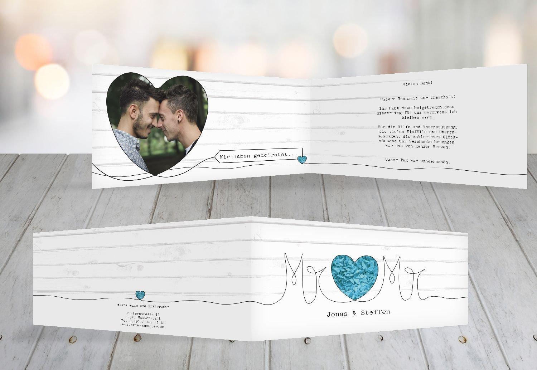 Kartenparadies Danksagung für Hochzeitsgeschenke Hochzeit Dankeskarte Mr&Mr, hochwertige Danksagungskarte Hochzeitsglückwünsche inklusive Umschläge   20 Karten - (Format  215x105 mm) Farbe  Rosa B07B6RPXD1 | Ausgezeichnetes Handwerk