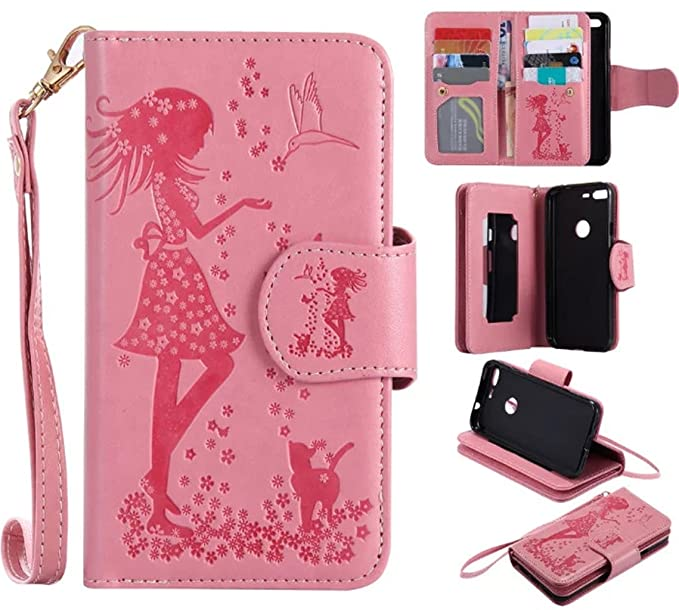 the latest d6df5 1aa46 Amazon.com: Samsung Galaxy J7 Prime Case,Galaxy J7 Prime Wallet Case ...