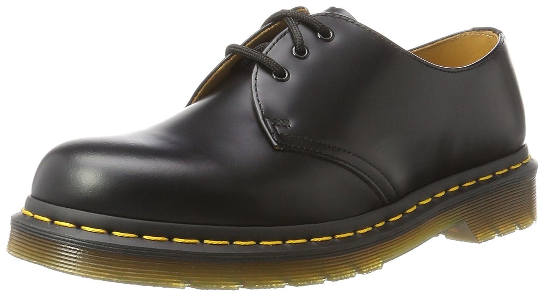 Dr Martens Noir Black Zapatos de cordones de cuero unisex