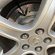 Rear R1 Concepts KEDS11275 Eline Series Cross-Drilled Slotted Rotors And Ceramic Pads Kit
