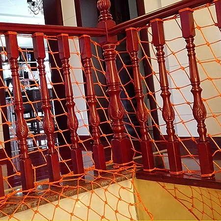 RENJUN Balcón protección contra caídas protección for niños Red protección for escaleras Aislamiento de Red Ancho de Red 0.8 m/Longitud 2 ma 9 m Opcional Red de Seguridad Infantil (Size : 0.8mx9m):