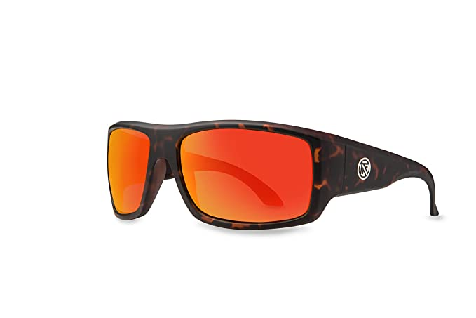 a7ddb5c0c7b Filtrate Eyewear Adult Trader One Polarized Sunglasses - Matte Tort   Red  Mirror Lens Polarized