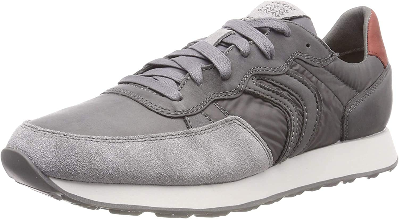 Subjetivo Explicación Musgo  Amazon.com: Geox U Vincit C - Zapatillas bajas para hombre, color gris:  Shoes