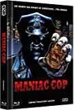 Maniac Cop - uncut [Blu-Ray+2DVD] auf 999 limitiertes Mediabook Cover A [Limited Edition] [Collector's Edition]