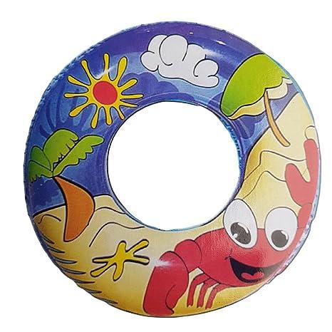 WILD N WET 60cm Novedad Nadando Para niños Caucho Nadar anillo Fiesta Piscina Neumático Divertido Niños