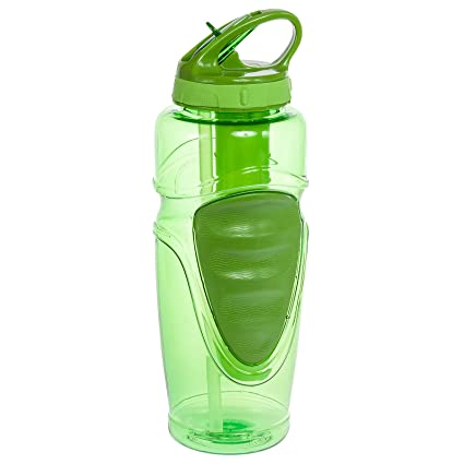 7749dcb0a5 Amazon.com : Cool Gear 32 Oz Ez-freeze Water Bottle - Solstice - BPA ...