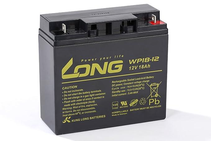 Akku kompatibel Notstrom USV Notlicht 12V 3,3Ah AGM Blei Vlies Accu wartungsfrei