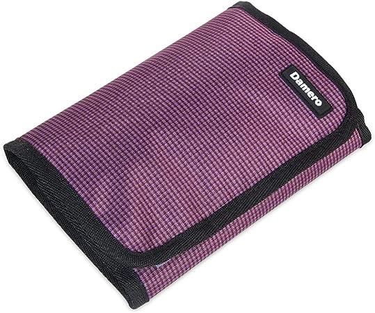 Damero Bolsa para Ganchillos Estuche para Hacer puntos Bolso para Kit de Tejer Organizador para Accesorios de Crochet, púrpura: Amazon.es: Hogar