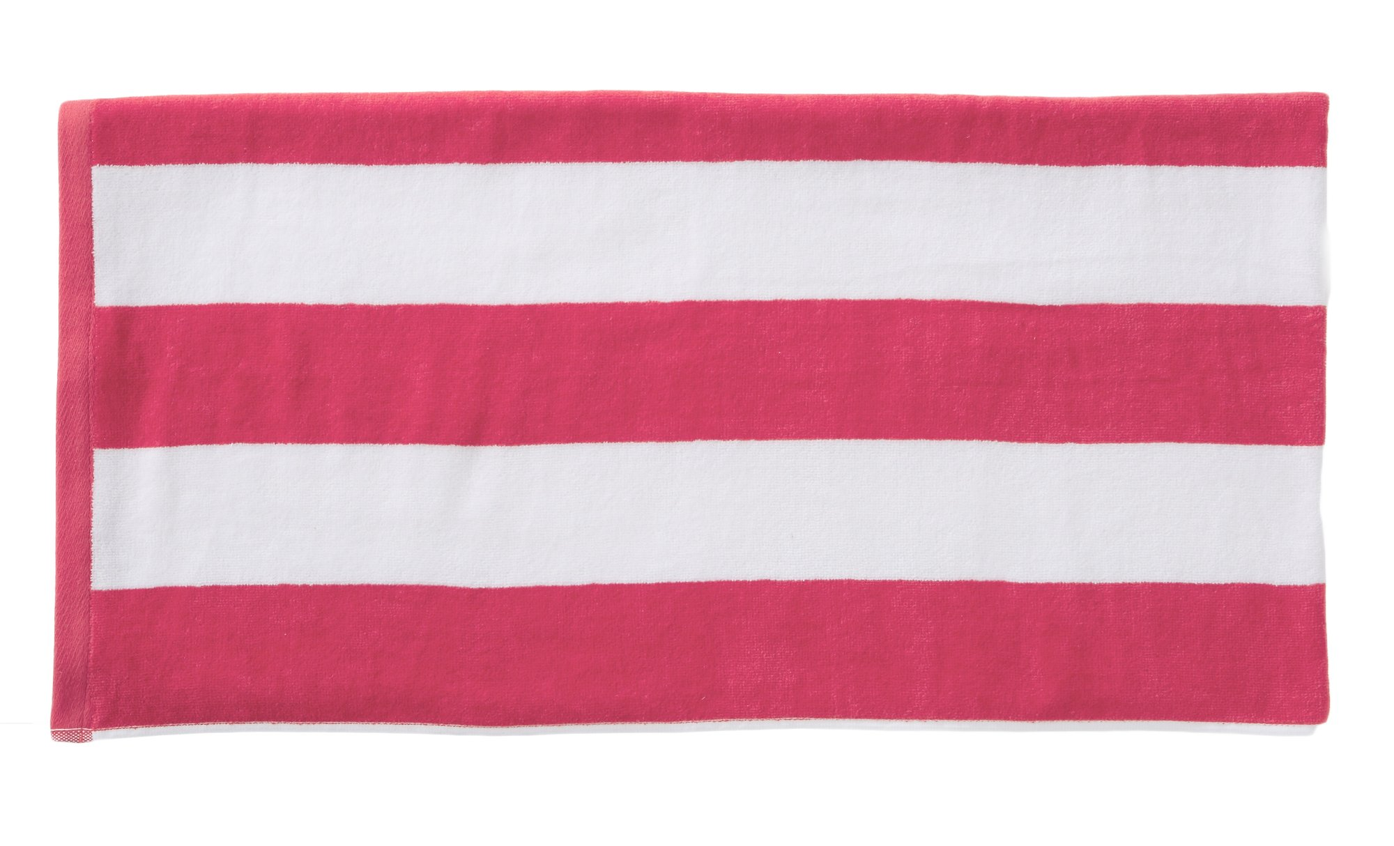 Great Bay Home Cabana Towel- pink