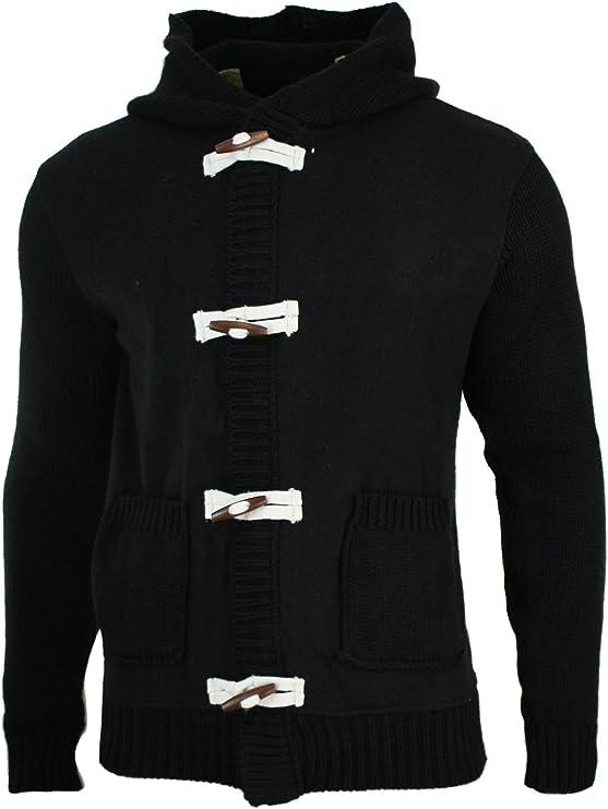 Homme Premium Chenille Full Zip à Col Cardigan maille hiver femme M-XXL