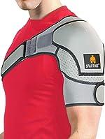 Sparthos Shoulder Brace - Support and Compression Sleeve for Torn Rotator