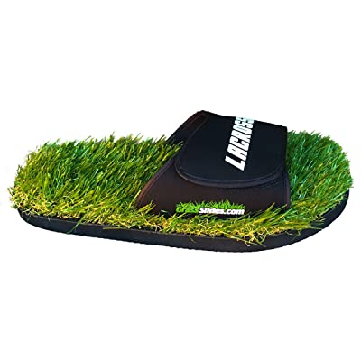 GrassSlides Lacrosse Shoes are Made from Real Turf, Slippers, Sandals, flip Flops, Slips. | Sandals