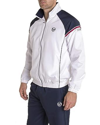 786f88ec459 Sergio Tacchini - Ensemble survêtements IREO Blanc et Bleu Marine Sport  Classe - Couleur  Bleu