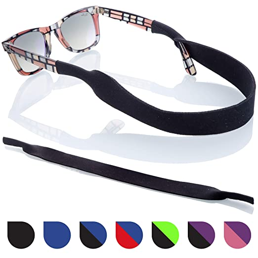 29d3220f9431 Sunglasses Strap - 2 Pack | Anti-Slip and Fast Drying Sport Safety Retainer  Straps