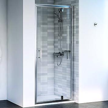 Aqualux 1193797 Pivot para mampara de ducha receso ajuste, pulido Plata, 760 mm: Amazon.es: Bricolaje y herramientas