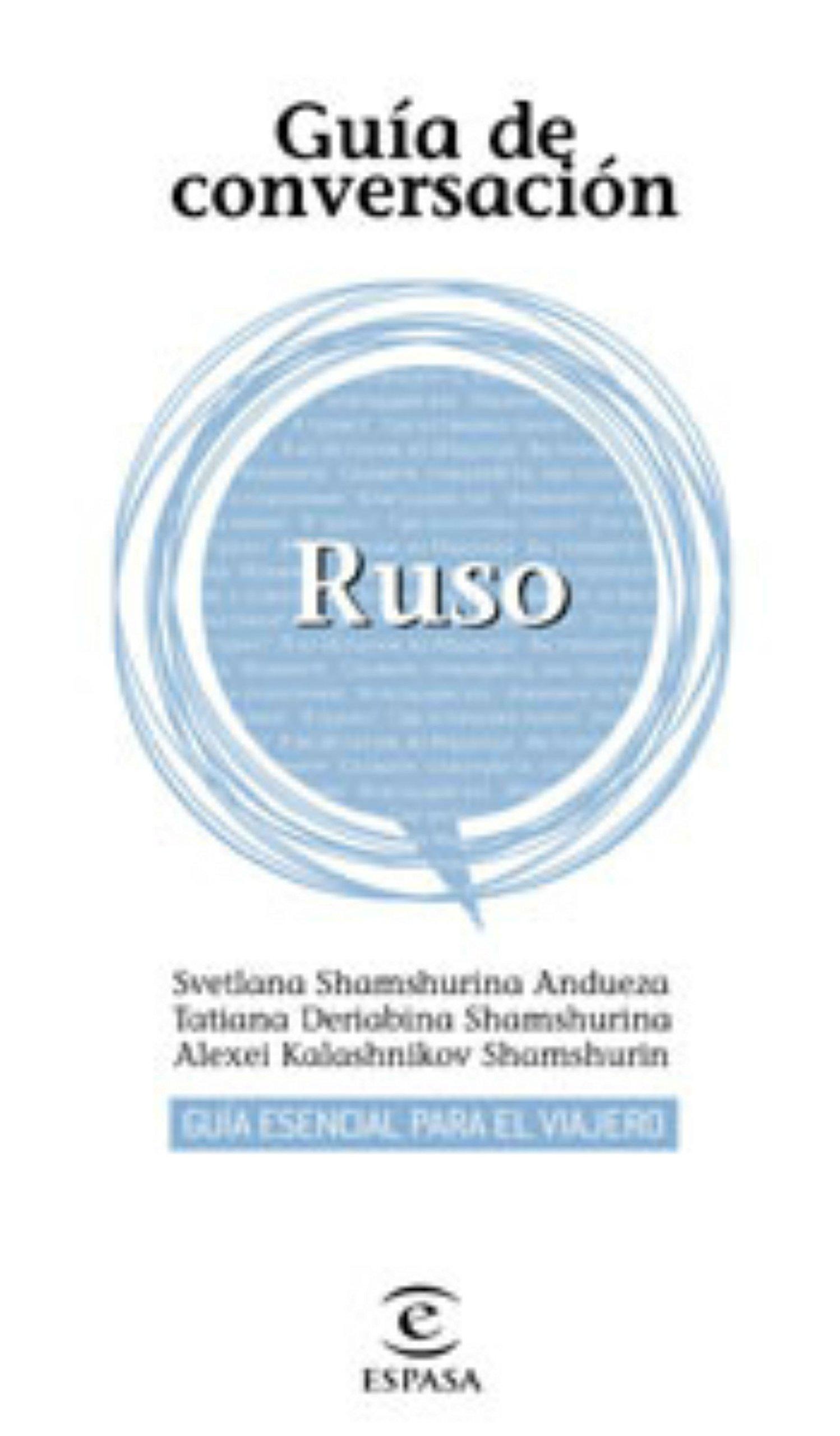 Guía de conversación ruso (Spanish) Paperback – January 1, 1900