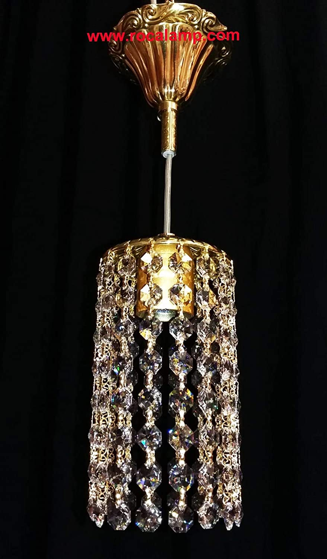 Lámpara Cristal Swarovski: Amazon.es: Handmade
