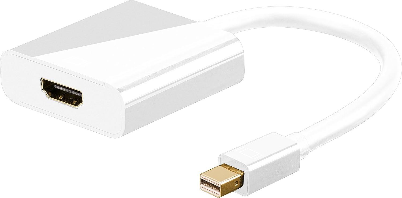 Goobay 67880 Mini Displayport Hdmi Adapter Cable 01 M Display Port To 13cm Computers Accessories