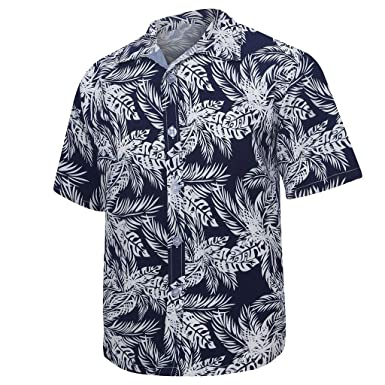 Oyedens Design for Men,Spring and Summer Fashion Couple Personal Printed Short-Sleeved Beach Tops
