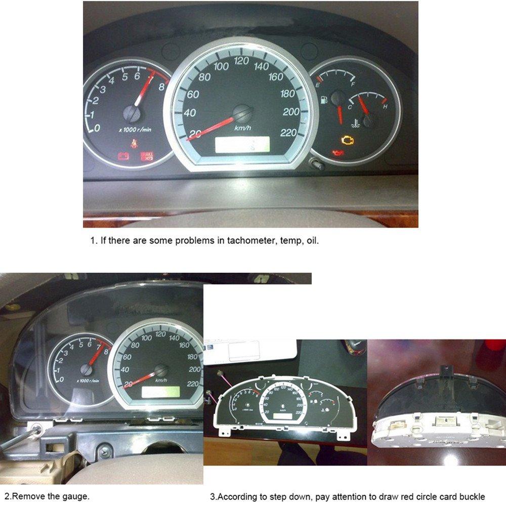 Drroc Gm Instrument Cluster Gauge Stepper Motor Repair 2007 Chevy Impala Wiring Harness Kit X27 168 6 Motors10 Backlight Bulbs1 Remove Toolflux Rosin Core Solder
