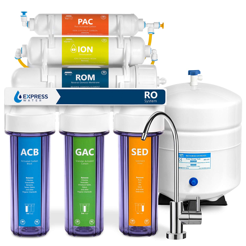 RO System pur Filtres à eau vanne à bille Purificateur Osmose Inverse Raccord 1pc