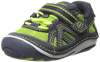 b5d2a8880bbf Stride Rite SRT SM Damien Sneaker (3XW (Infants)) Green