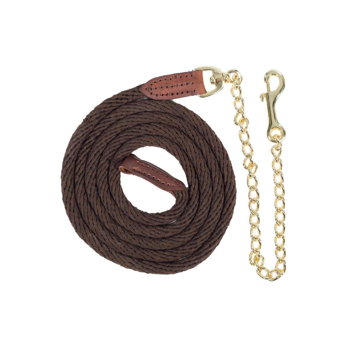 Dark Brown One Size Dark Brown One Size Horze Holbrook Chain Lead