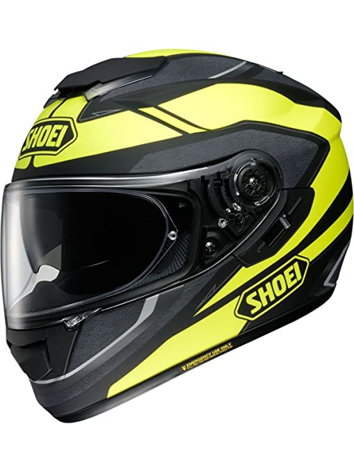 Shoei GT-Air Swayer Motorcycle Helmet S Matt Yellow Black (TC-3)
