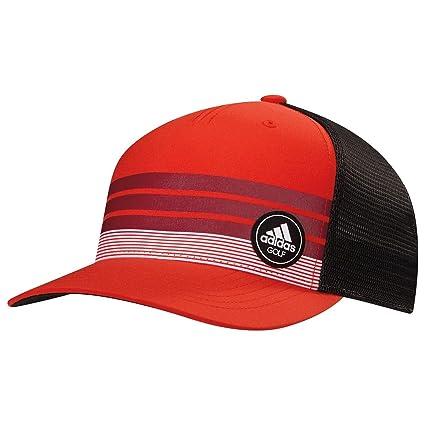 a3020ddca0a Amazon.com   Adidas Golf- Stripe Trucker Cap   Sports   Outdoors