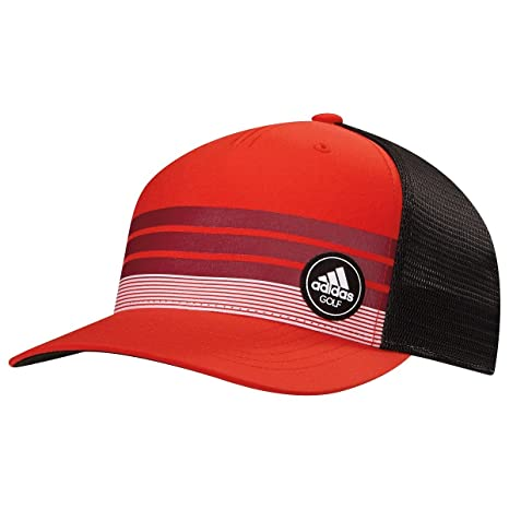 f3a5dee7296 Amazon.com   Adidas Golf- Stripe Trucker Cap   Sports   Outdoors