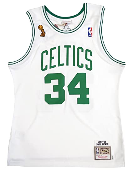 8bb3244892f9 Mitchell   Ness Paul Pierce 2007-08 Boston Celtics Authentic Finals Jersey  White (36