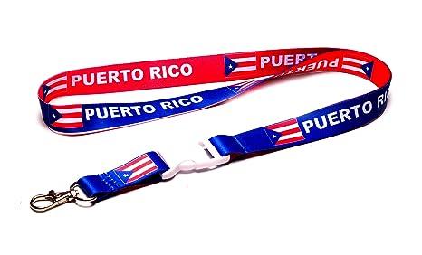 Amazon.com: Bandera de Puerto Rico Reversible Rojo/Azul ...