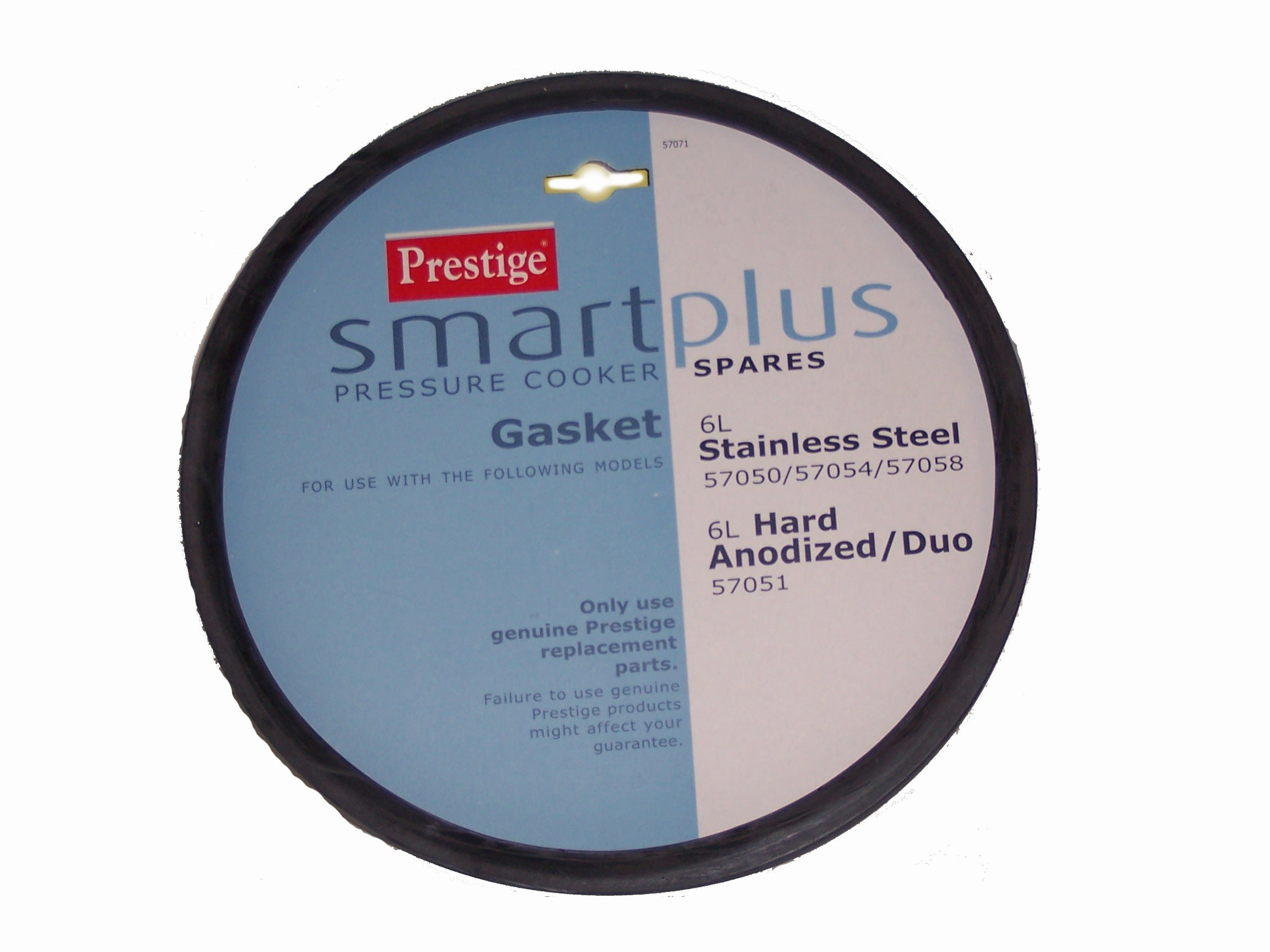 Prestige Smartplus Gasket For 6 Litre Smartplus Pressure Cookers 57050 And 57051