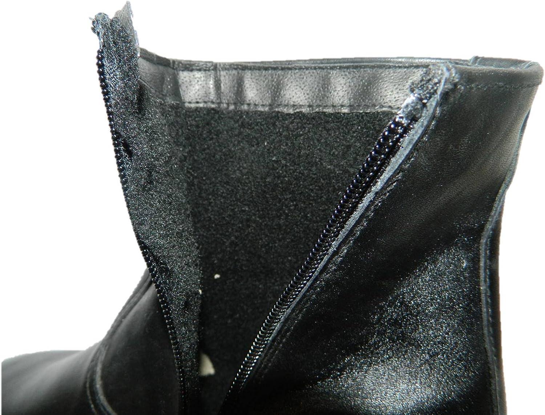Stivali uomo classici calde imbottite eleganti comode in pelle colore nero