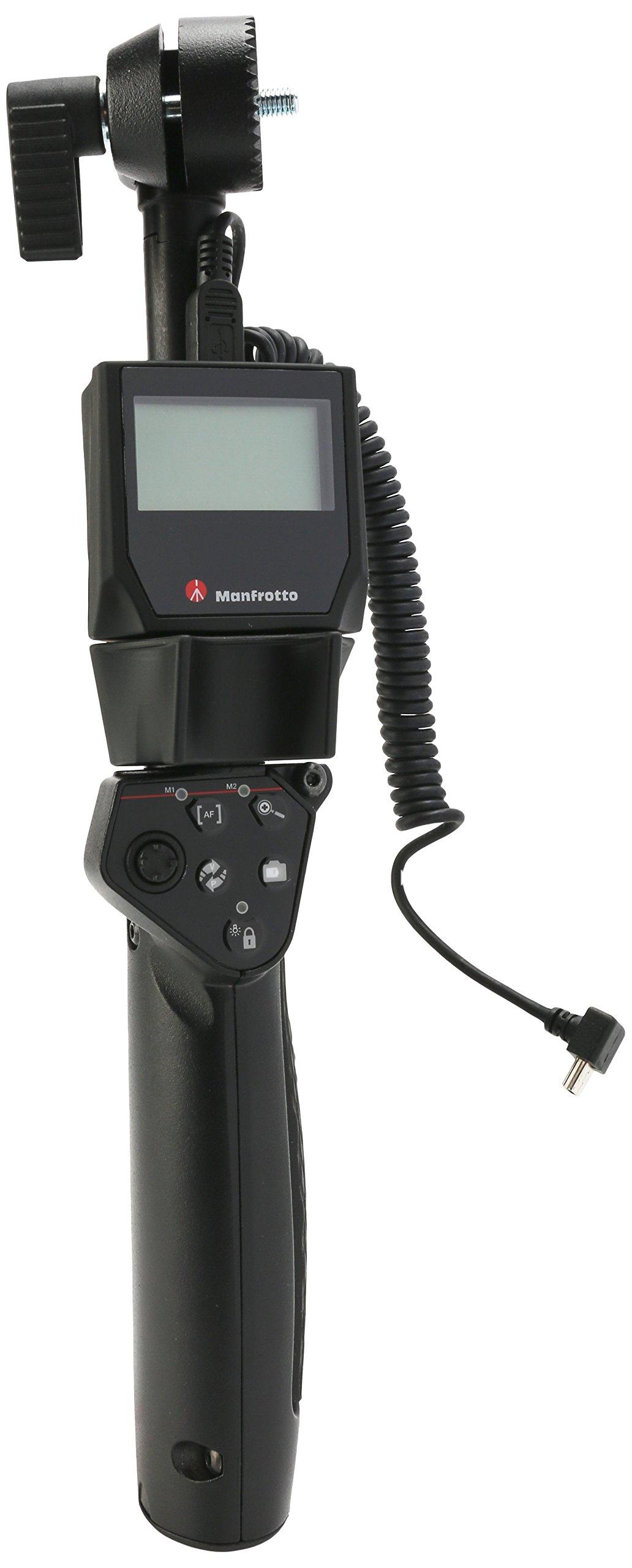 Manfrotto MVR911EJCN HDSLR Deluxe Remote Control for Canon (Black)