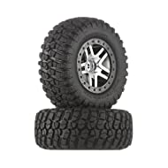Traxxas 6873 BF Goodrich Mud Terrain T/A KM2 Tires Pre-Glued on Satin