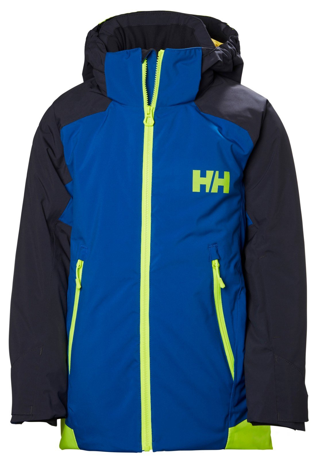 Helly Hansen Junior Unisex Stuben Jacket Olympian Blue - 12 by Helly Hansen