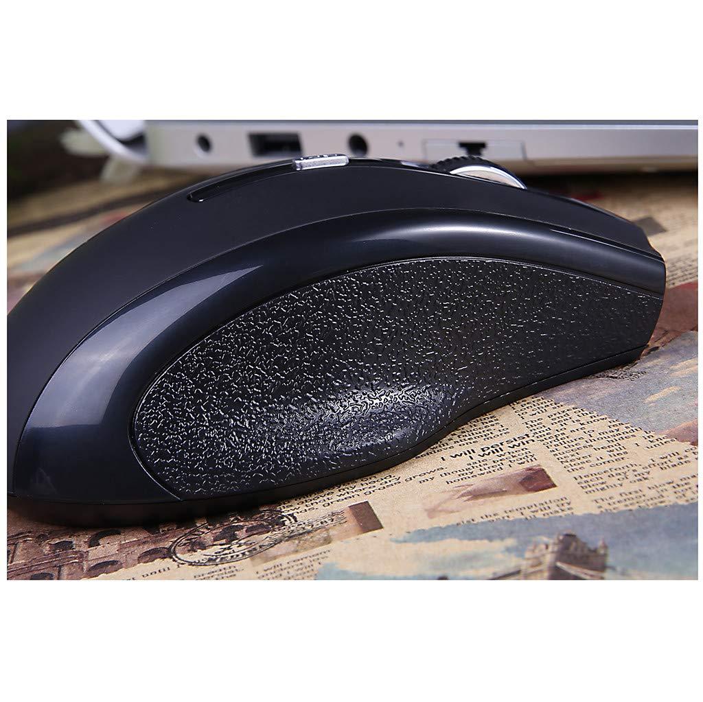 New Mice Wired LED Light 2400DPI Optical USB Ergonomic Pro Gamer Gaming Mouse Metal Plate,AcisuHu