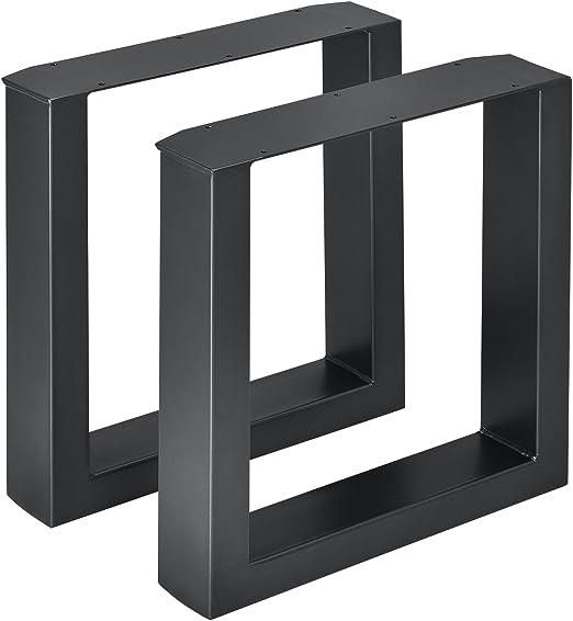en.casa] 2 x Conjunto de Patas de mesa - Set de 2x patas de mesa ...