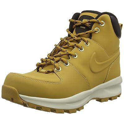 Nike Manoa Leather Haystack/Haystack - Velvet Brown (11 Mens) | Hiking Boots