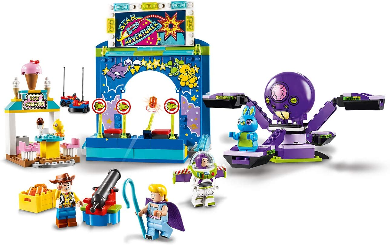 LEGO Juniors Toy Story 4 Buzz & Woody\'s Carnival Mania Playset