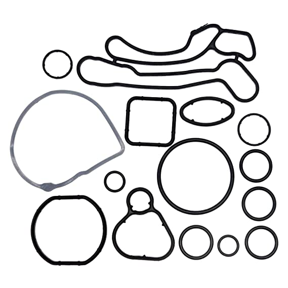 Amazon Com 15 Pcs Gasket Seals For Engine Oil Cooler And Filter