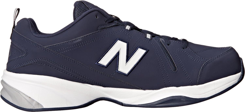 New Balance Mx608v4, Weiß-Schwarz, Herren Navy