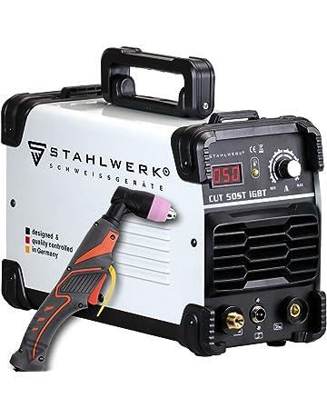 Acero de Cut 50 ST IGBT Plasma Schneider con 50 amperios, hasta 14 mm corte
