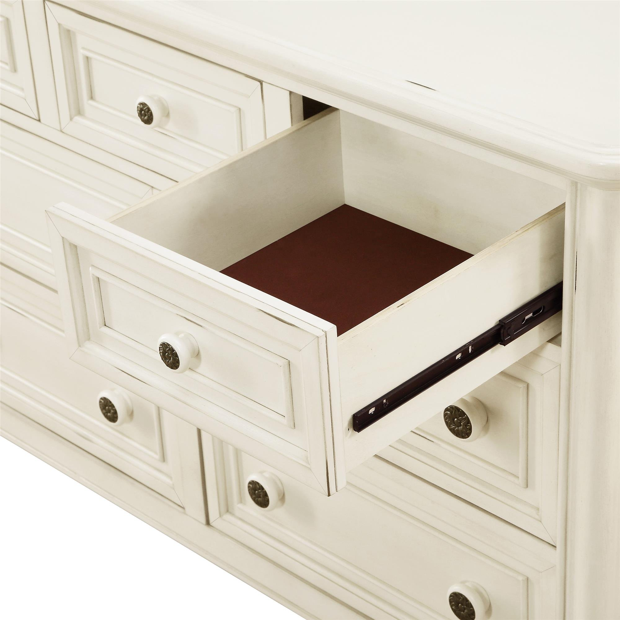 Baby Knightly 7-Drawer Dresser, Antique White by Baby Knightly (Image #4)