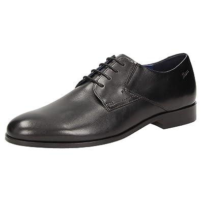 Chaussures pour Noir à Ville 40 Homme Sioux EU de Lacets Noir R8XqWxdnx