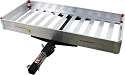 MAXXHAUL 50149 Aluminum Hitch Cargo Carrier